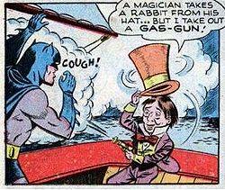 Muchos villanos del mundo Batman (yo calculo que son más de trescientos) probablemente nunca saldrán en un largometraje... y con razón, creo yo.