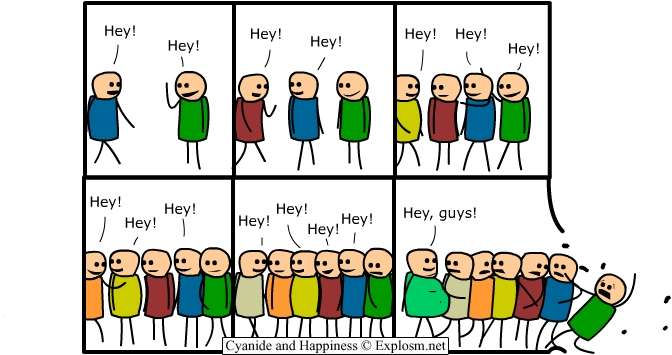 Adoro: 1) el comic posmoderno, 2) el comic simplón
