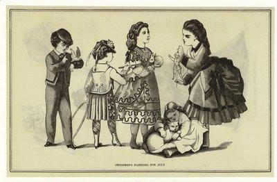 Antes del siglo veinte los niños tenían cara de adultos (no es que fueran malos dibujantes)